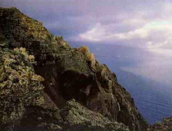 Foto de un acantilado